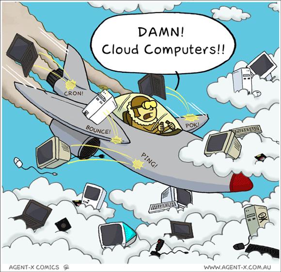#TGIF - Computação nas nuvens atrapalha?? #Humor
